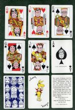 Collectible  playing cards. Kennedy Kards.  1963
